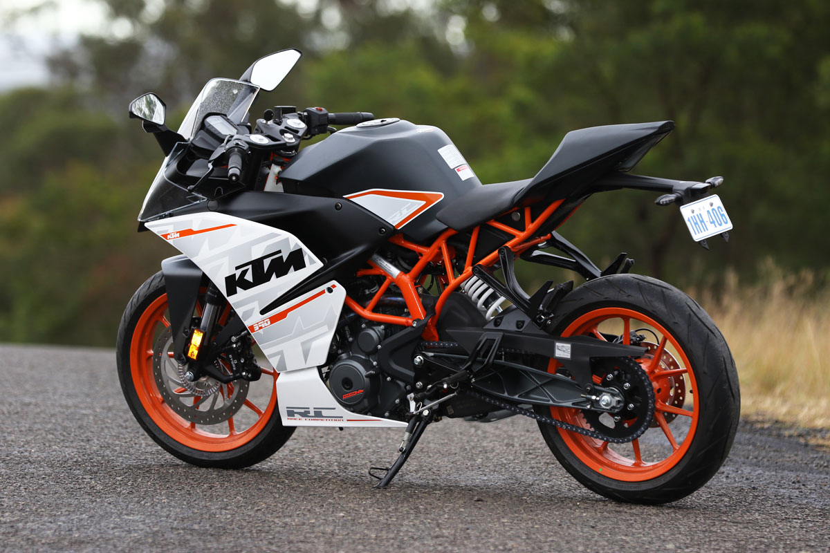 Used 2017 model KTM RC 390 for sale in Hyderabad. ID